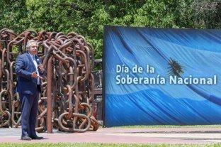 """""""Peleamos por la soberanía cultural, tecnológica, científica y alimenticia del país"""", dijo Fernández"""