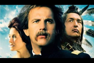 El film que recobró en los 90 el espíritu del Lejano Oeste - Kevin Costner realiza una de sus mejores interpretaciones como John Dunbar, decepcionado militar que se hace amigo de los indios sioux luego de ser trasladado a un lejano puesto fronterizo. -