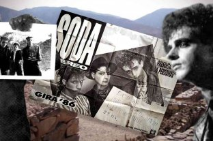 """Se cumplen 35 Años del lanzamiento del albúm """"Nada Personal"""" de Soda Stereo"""