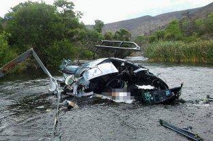Las primeras pericias confirman que el helicóptero en el que viajaba Brito cayó por tocar un cable de tirolesa