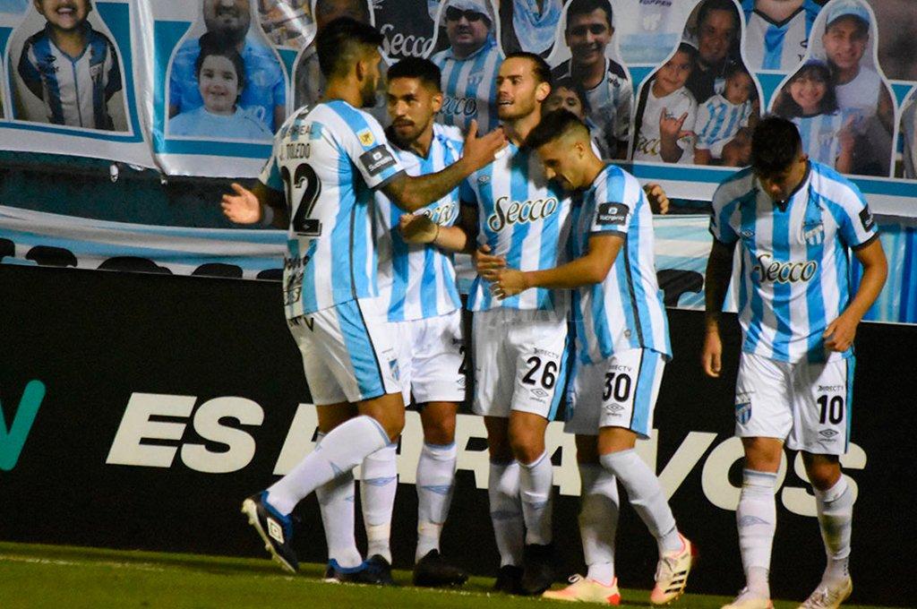 Atlético Tucumán ganó los cuatro partidos y tiene puntaje perfecto.  Crédito: Gentileza Prensa Atlético Tucumán.
