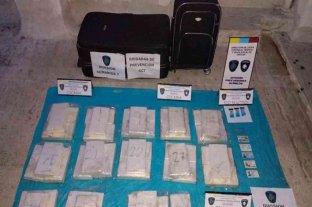 Detuvieron a la hermana del futbolista Nicolás de la Cruz con 40 kilos de cocaína