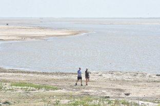 El Río Paraná quedó al borde de la altura más baja de los últimos años