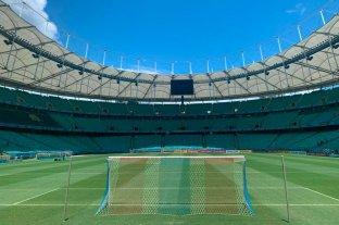 Ultiman los detalles en el Fonte Nova, estadio donde jugará Unión ante el Bahía