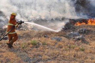 Focos de incendio activos en las provincias de Entre Ríos, Misiones y Jujuy