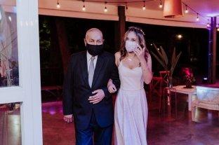 Rafaela tuvo la primera fiesta de 15 años luego de ocho meses -