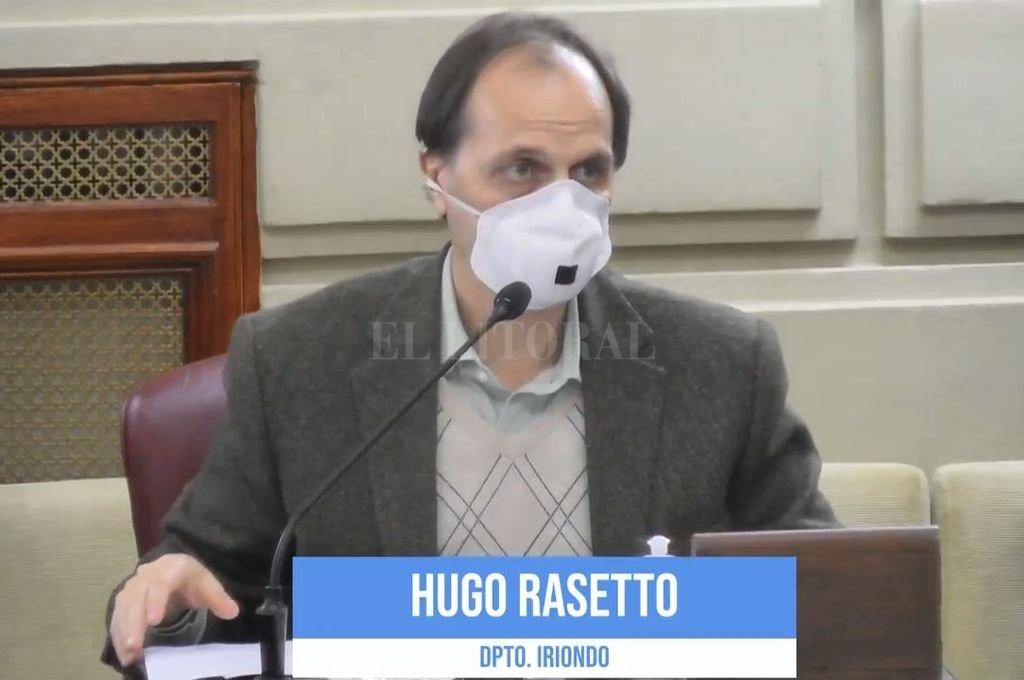 El senador Rubén Rasetto. Crédito: Archivo El Litoral