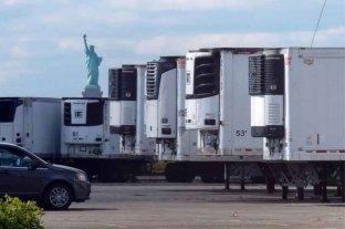 Cientos de muertos por coronavirus permanecen almacenados en camiones en Nueva York