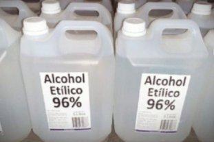 ANMAT prohibió la comercialización de una marca de alcohol etílico