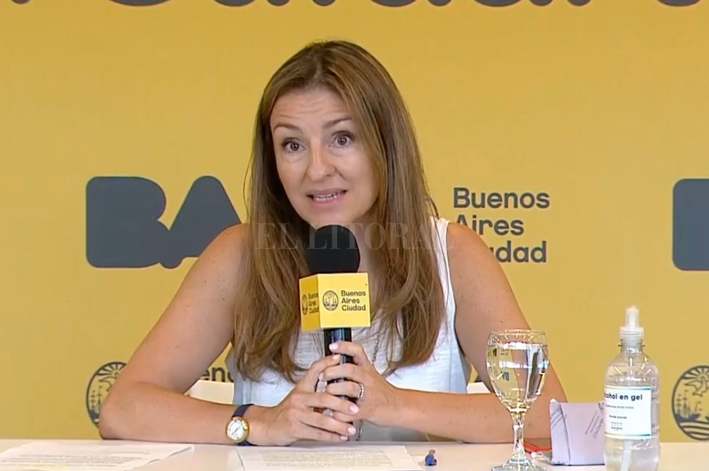Soledad Acuña, ministra de Educación porteña Crédito: Gentileza