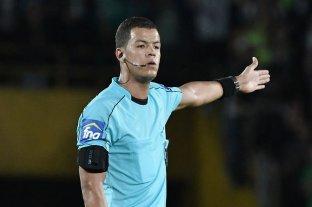 El colombiano Jhon Ospina será el árbitro de la revancha entre Unión y Bahía -  -