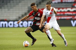 River rescató un empate sobre la hora ante Athletico Paranaense en Brasil