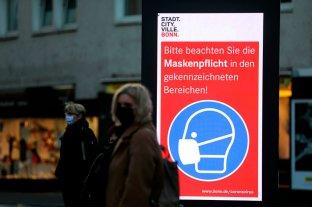 Alemania registró la cifra más alta de muertes por coronavirus en lo que va de la pandemia