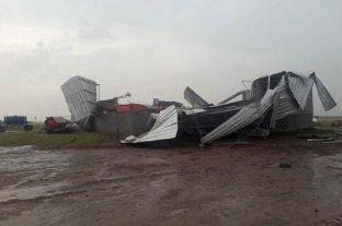 Fuerte temporal en Córdoba provocó voladuras de techos