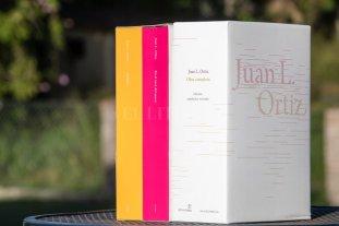 Se presenta la obra completa de Juan L. Ortiz