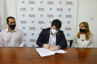 Venado Tuerto: empresas donaron una ambulancia a la municipalidad