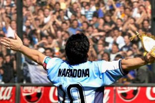 10 fotos memorables de Diego Maradona