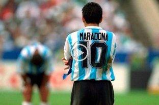 Video: los 34 goles de Maradona en la Selección Argentina