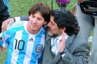 """""""Diego es eterno"""", el mensaje de Messi por la muerte de Maradona -"""
