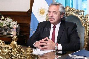 El Presidente suspendió la agenda oficial por la muerte de Maradona