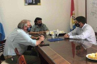 San Agustín: Pirola entregó aportes para obras en el samco