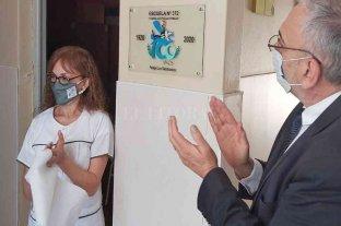 Calvo acompañó el centenario de la Escuela Nº  372 de San Vicente