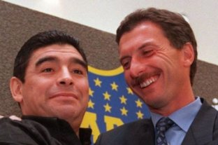 Mauricio Macri se despidió de Diego Armando Maradona
