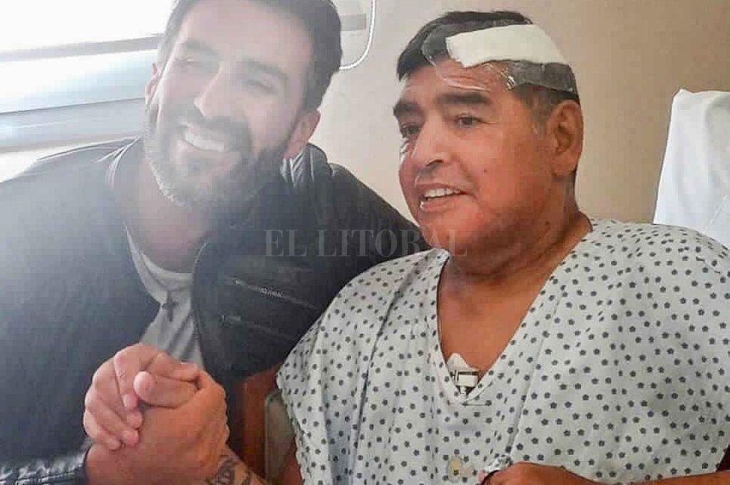 Diego había sido operado de un hematoma subdural en su cabeza el pasado martes 3 de noviembre. Crédito: Archivo El Litoral