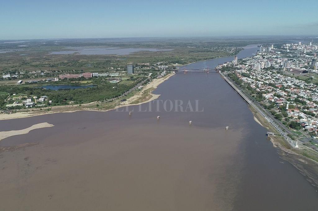 La ciudad de Santa Fe y el humedal Crédito: Fernando Nicola