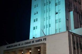 La Municipalidad de Santa Fe y la Casa Rosada, iluminadas en honor a Diego Maradona