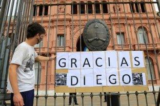 La Casa Rosada abrirá sus puertas a partir de las 6:00 para velar a Maradona -  -
