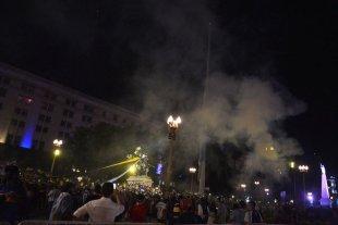 Se registraron disturbios en el velatorio de Diego Maradona -  -