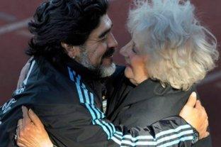 """Estela de Carlotto, ante la muerte de Maradona: """"Me desperté deseando que fuera un mal sueño"""""""
