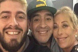 """Cristina Sinagra despidió a Maradona en las redes: """"Tú, para mí, jamás te irás"""" -"""
