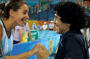 """Luciana Aymar: """"Diego fue la inspiración más grande que tuve"""""""