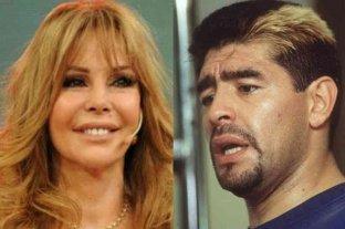 Graciela Alfano recordó una emotiva charla con Diego Maradona
