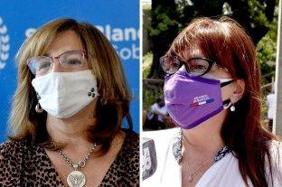 Covid: Frana dejó el hospital y volvieron a internar a Celia Arena - Silvina Frana y Celia Arena. -