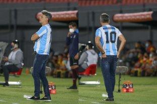 El brasileño Renato dirigió a Gremio con la camiseta de Maradona puesta