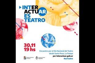 Encuentro por el Día Nacional del Teatro