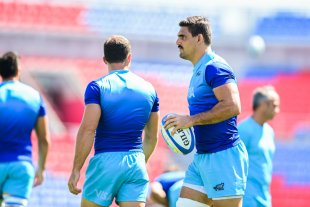 Los Pumas realizaron el Captain?s Run en Newcastle