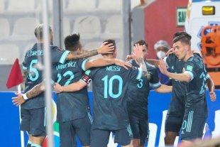 Argentina asciende al séptimo lugar en el ranking de la FIFA