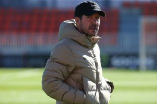 "Simeone: ""De chicos todos queríamos ser Maradona"""