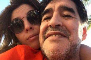 """Dalma Maradona despidió a su papá con un conmovedor mensaje: """"Te voy a amar y defender toda mi vida"""""""""""