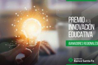 La Fundación Banco Santa Fe anunció los ganadores regionales del premio a la innovación educativa