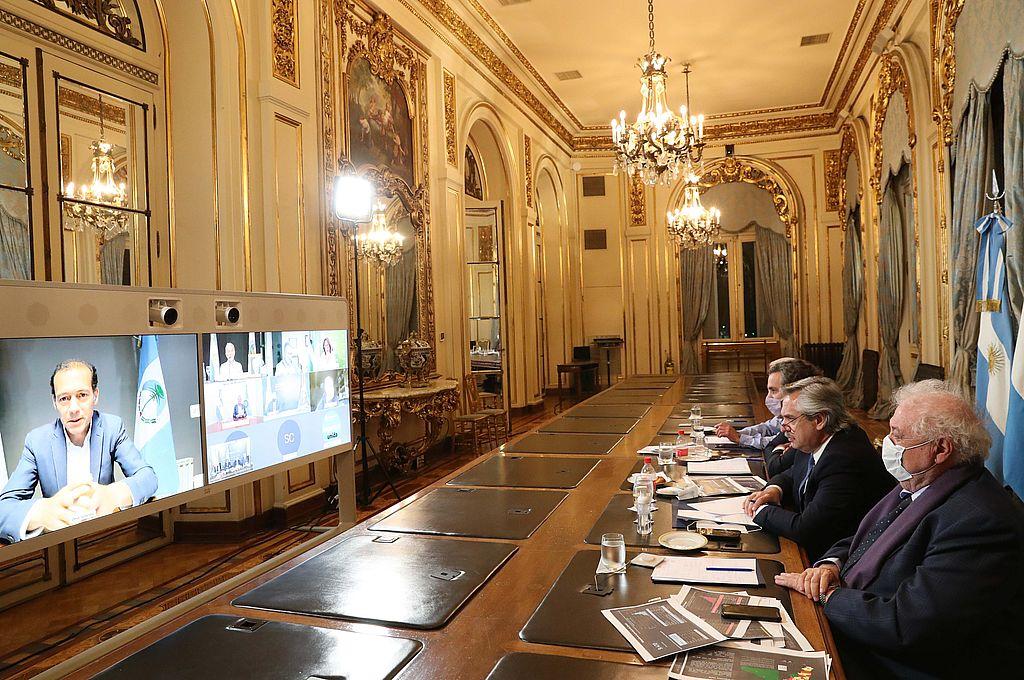 Crédito: Presidencia de la Nación/Archivo