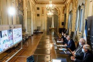 El Presidente dialogó con gobernadores y anuncia medidas sobre la cuarentena