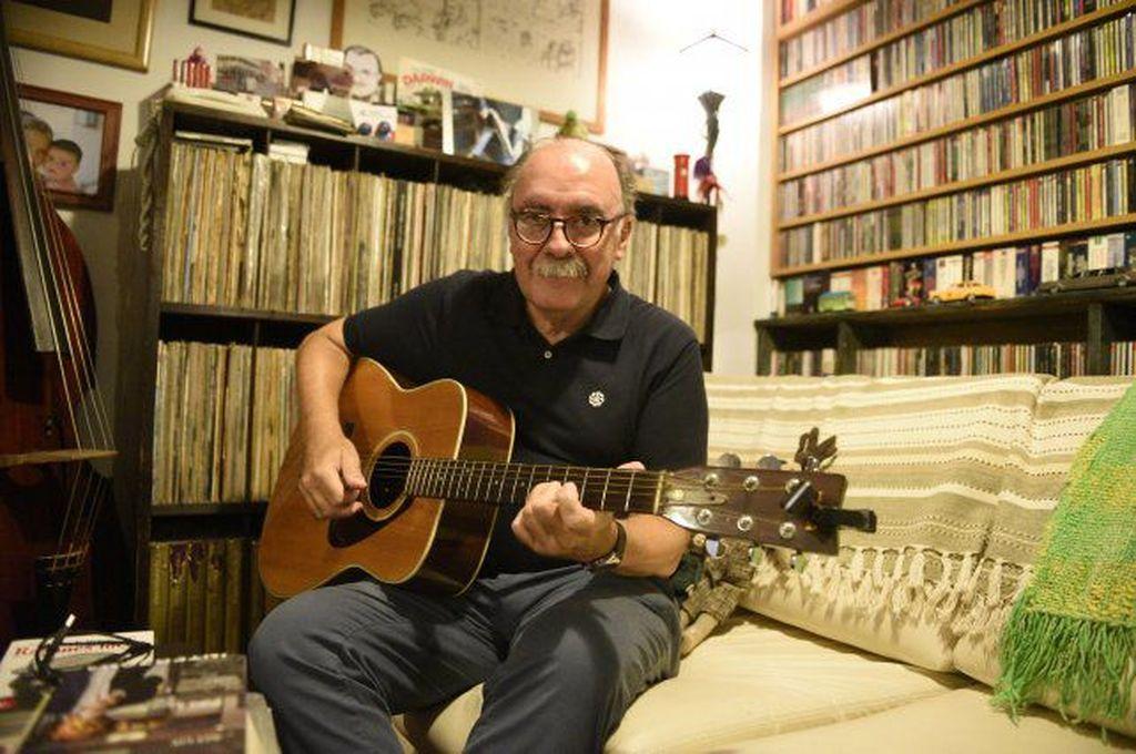 Brilló en el grupo de jazz El Umbral y fue guitarrista y compositor de Mundo Bizarro Crédito: La Capital