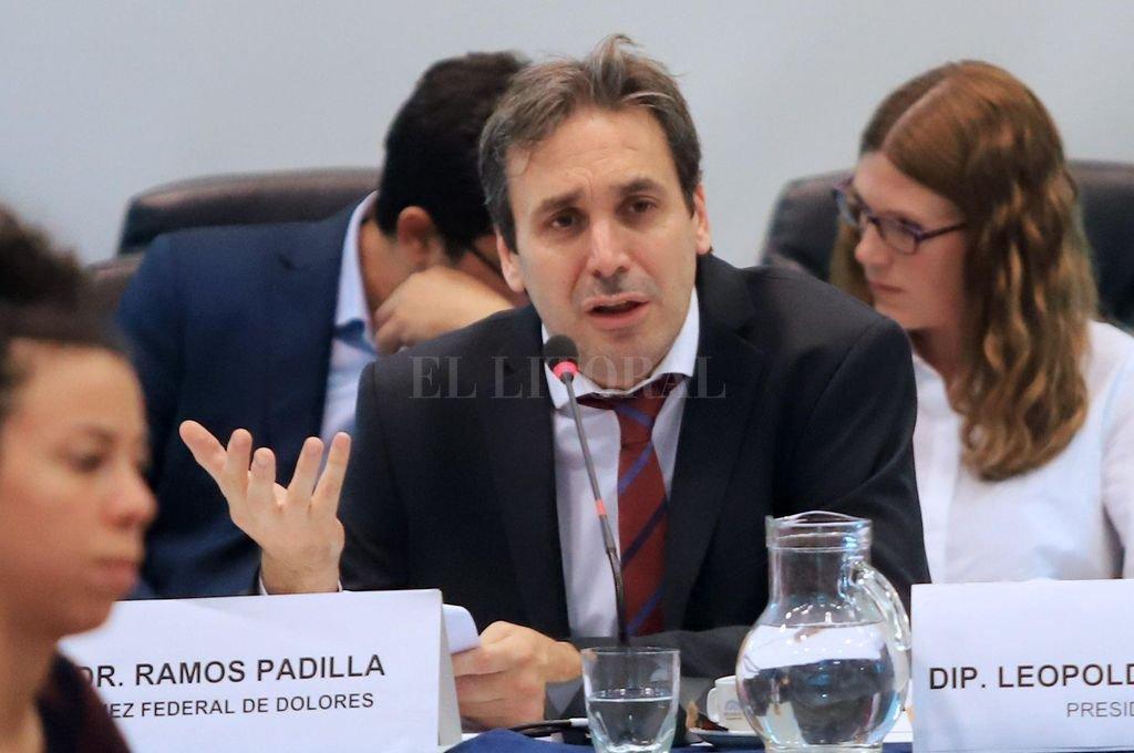 El juez Alejo Ramos Padilla, titular del juzgado federal de Dolores. Crédito: Archivo El Litoral