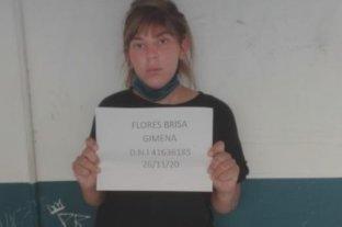 "Volvieron a detener a la reconocida ""mechera"" rosarina Brisa Flores"