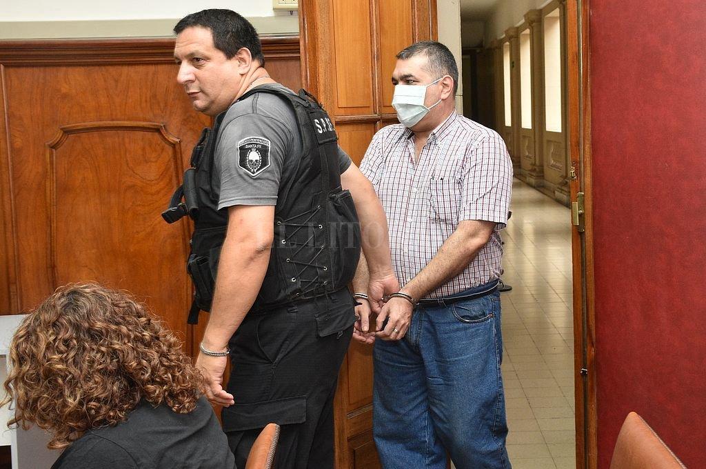 El acusado José Luis Catuzzi.